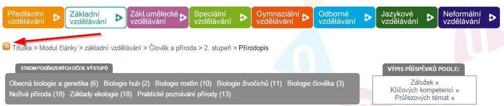 rss prirodopis